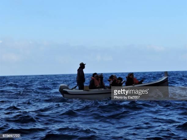 A boat trip in the Mediterranean