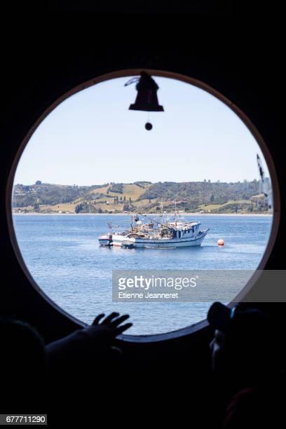Boat Window, Dalcahue, Chiloe, Chile, 2013