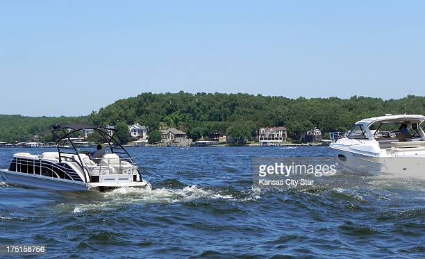 Boaters leave Kelly's Port Marina to enjoy an afternoon on the water