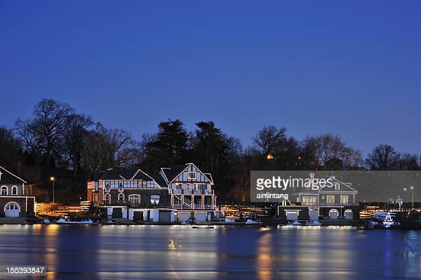 Boathouse Row in Philadelphia