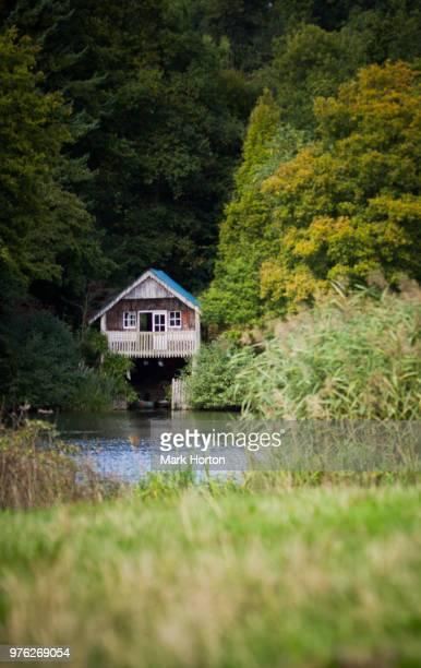 Boathouse, Winkworth Arboretum
