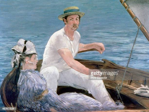'Boating' 1874 possibly Rudolph Leenhoff brotherinlaw of the artist Manet The Metropolitan Museum of Art New York USA