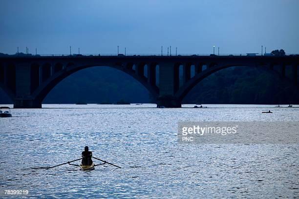 Boating in Potomac River, Washington DC