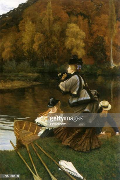 Boating Outing Tissot James Jacques Joseph 1871