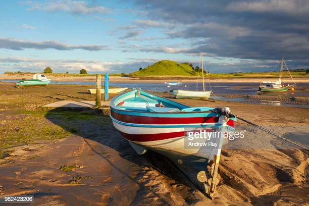 Boats at Alnmouth.