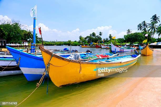 Boats at Baga Beach