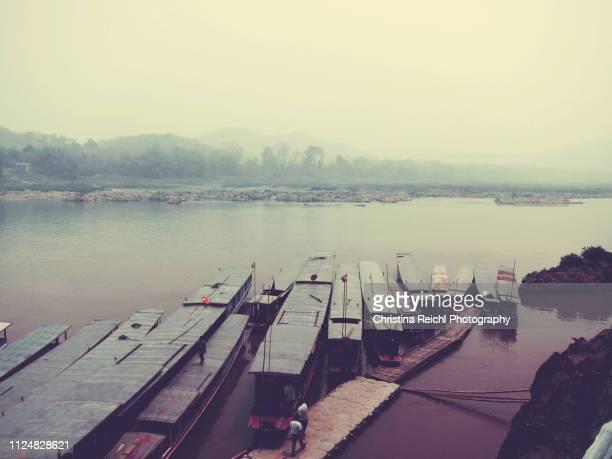 Boats at Mekong River