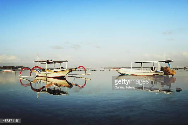 Boats at Nusa Lembongan