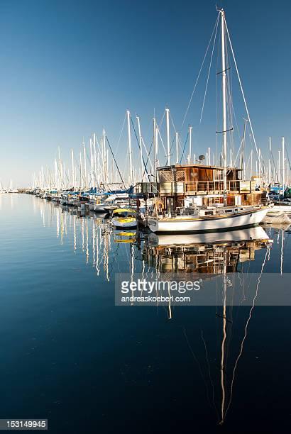 Boats at Santa Barbara Harbor
