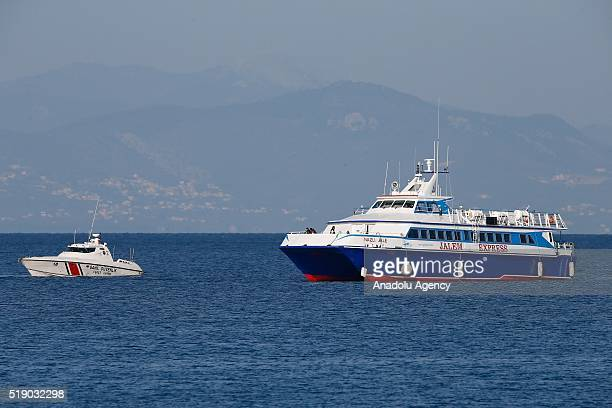 Boats carrying 138 refugees from Moria Refugee Camp in Greek Island of Lesbos to Turkey as part of EUTurkey Refugee Deal enter Turkish territorial...