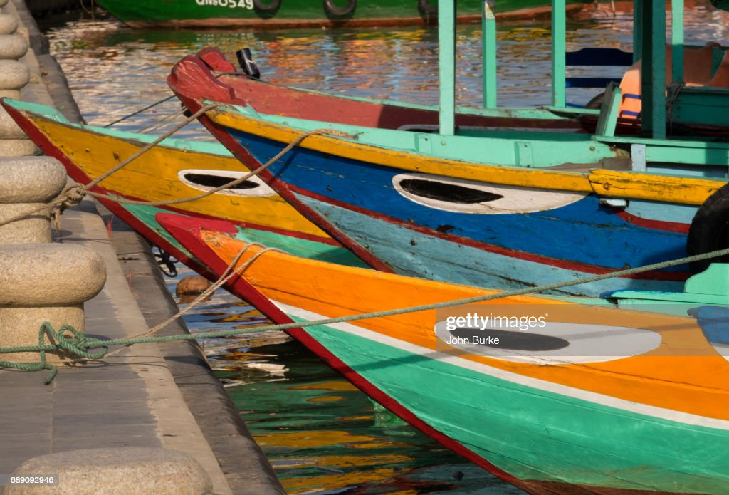 Boats, Hoi An Vietnam : Stock Photo