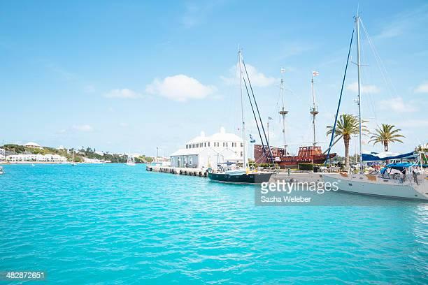 Boats in Bermuda Harbor