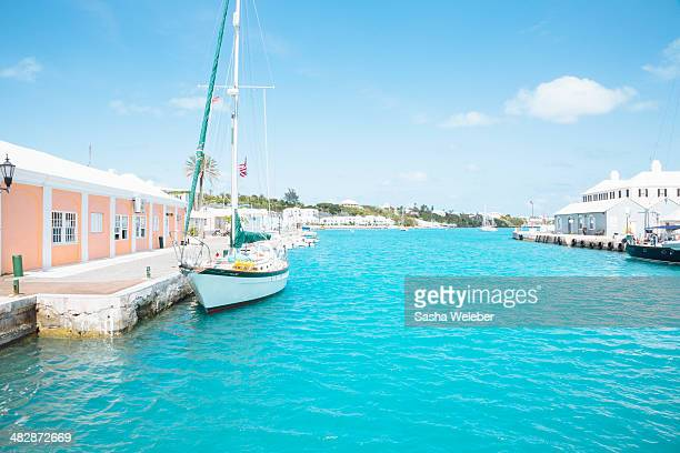 Boats in Bermuda Harbor