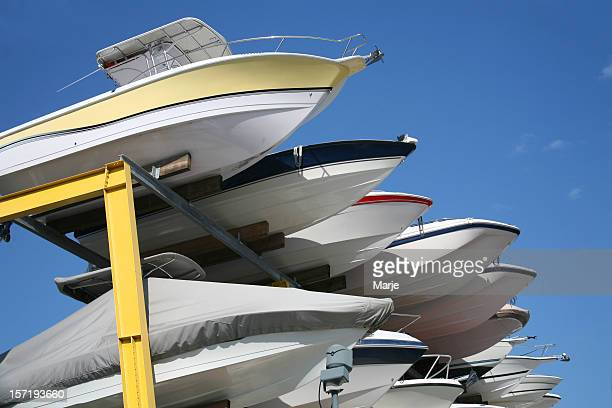 Boats in Dry Storage
