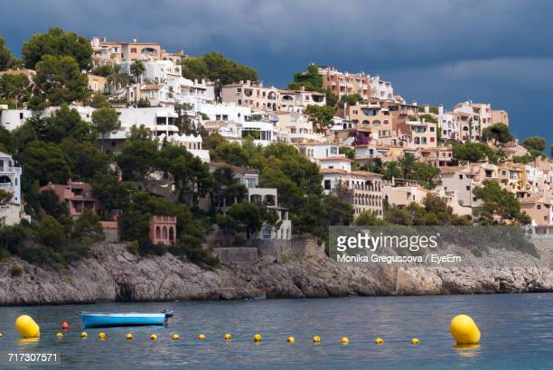 boats in sea - monika gregussova stock pictures, royalty-free photos & images