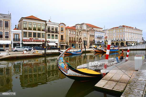 CONTENT] Boats in the central canal in Aveiro Often called the Venice of Portugal