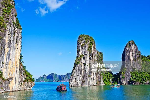 Boats on Ha Long Bay, Vietnam