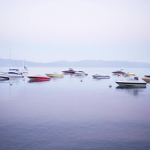 Boats On Lake Tahoe Wall Art