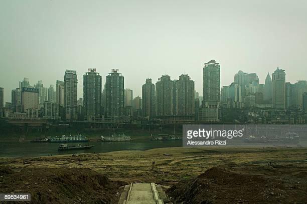 Boats on the Jialing River in Chongqing The city of Chongqing is one of the fastestgrowing urban centres on the planet It is changing ferociously...