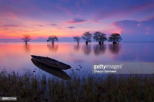 boats on the lake - derwent water - fotografias e filmes do acervo