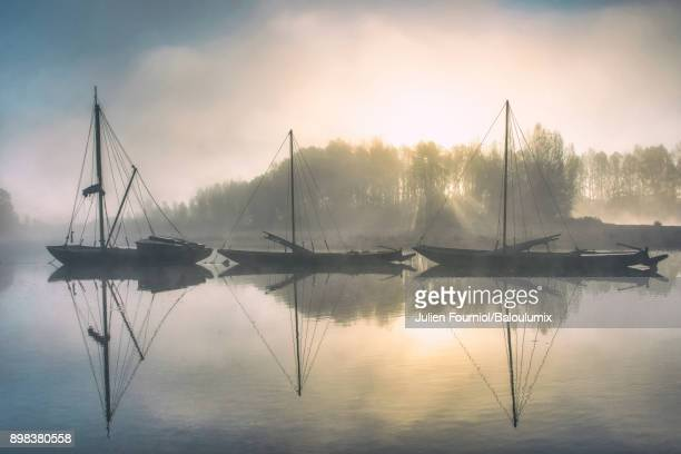 Boats on the Loire