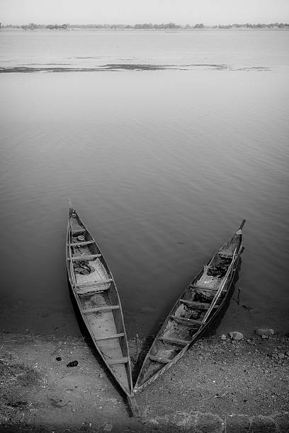 boats on the Niger
