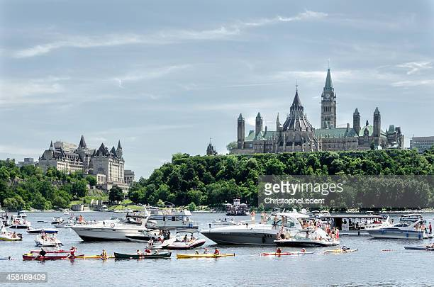 Boats on the Ottawa River