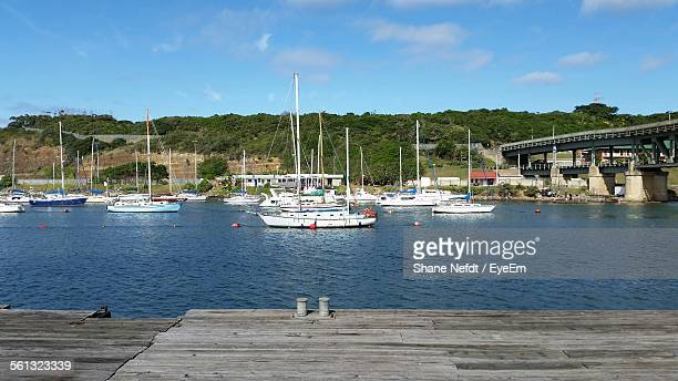 boats sailing in river - eastern cape stock pictures, royalty-free photos & images
