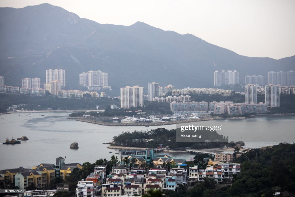 Hong Kong Has a $64 Billion Plan to Build Islands for New Homes : News Photo