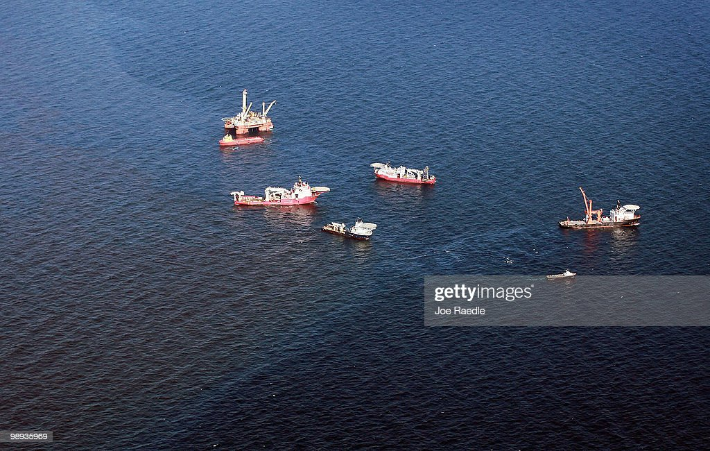 Gulf Oil Spill Begins To Reach Land As BP Struggles To Contain Leak : Nachrichtenfoto