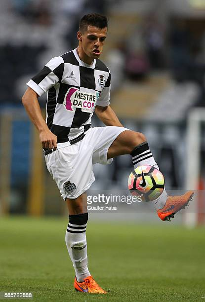Boavista FC's defender Talocha in action during the PreSeason Friendly match between Boavista FC and Real Club Celta de Vigo at Estadio do Bessa on...