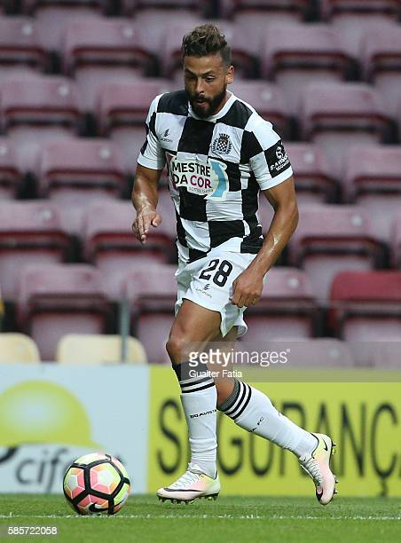 Boavista FC's defender Tiago Mesquita in action during the PreSeason Friendly match between Boavista FC and Real Club Celta de Vigo at Estadio do...