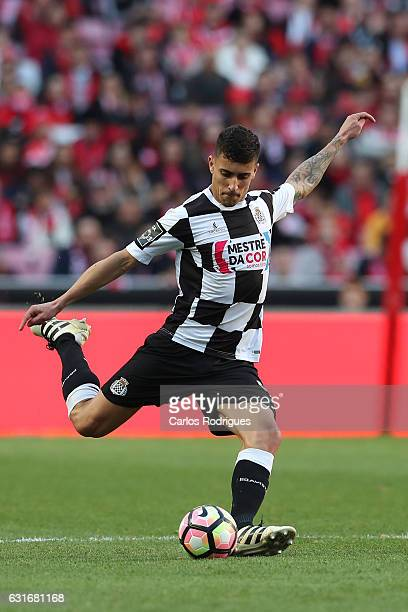 Boavista's defender Philipe Sampaio from Brazil during the match between SL Benfica and Boavista FC for the Portuguese Primeira Liga at Estadio da...
