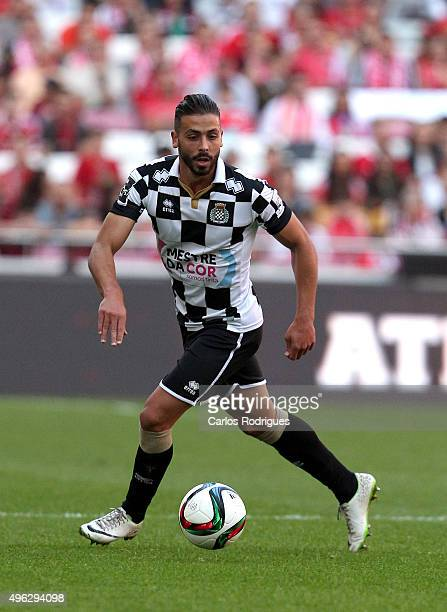 Boavista's defender Tiago Mesquita during the match between SL Benfica and Boavista FC at Estadio da Luz on November 8 2015 in Lisbon Portugal
