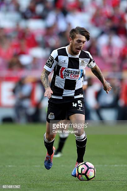 Boavista's forward Iuri Medeiros from Portugal during the match between SL Benfica and Boavista FC for the Portuguese Primeira Liga at Estadio da Luz...