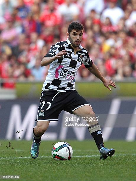 Boavista's forward Luisinho during the match between SL Benfica and Boavista FC at Estadio da Luz on November 8 2015 in Lisbon Portugal