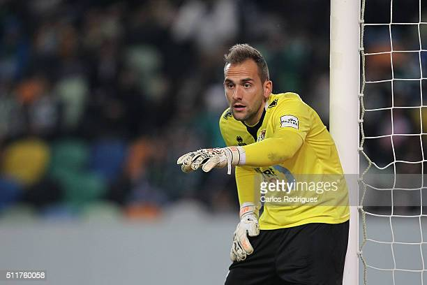 Boavista's goalkeeper Mika during the match between Sporting CP and Boavista FC for the Portuguese Primeira Liga at Jose Alvalade Stadium on February...