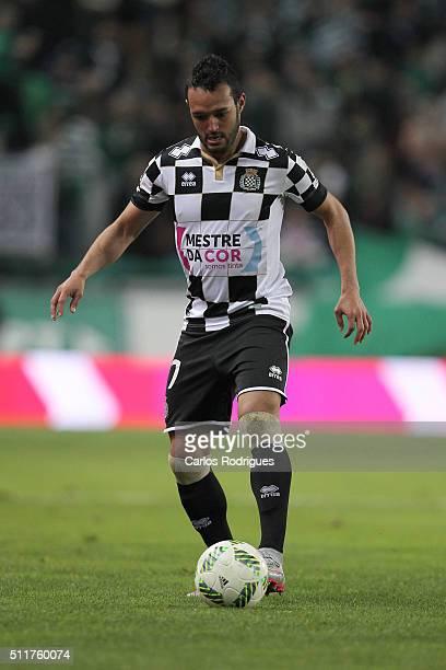 Boavista's midfielder Anderson Carvalho during the match between Sporting CP and Boavista FC for the Portuguese Primeira Liga at Jose Alvalade...