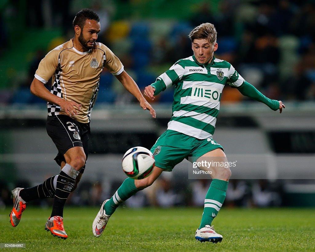 League Cup football, Sporting Vs Boavista : News Photo