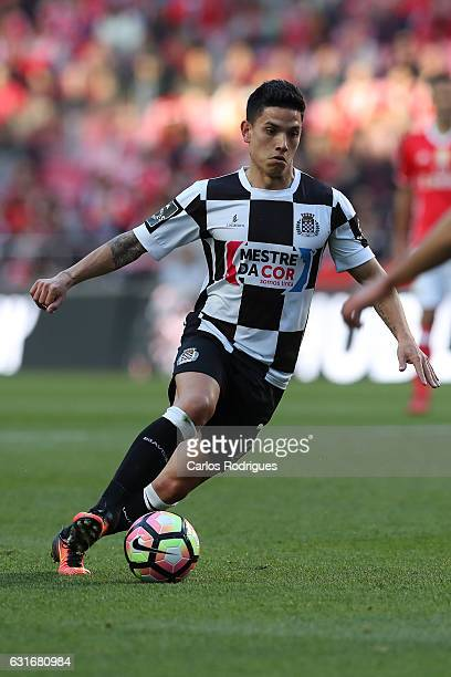 Boavista's midfielder Renato Santos from Portugal during the match between SL Benfica and Boavista FC for the Portuguese Primeira Liga at Estadio da...