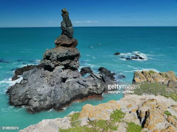 Boaz Rock, Banks Peninsula, New Zealand