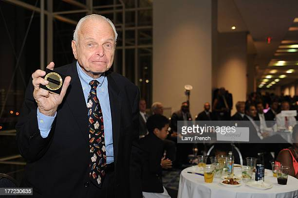 Bob Adelman shows off his achievement award at the Emancipation Of Capital Gala And Awards Ceremony celebrating the 150th Anniversary of the...