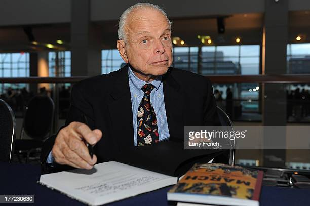 Bob Adelman signs copies of his book at the Emancipation Of Capital Gala And Awards Ceremony celebrating the 150th Anniversary of the Emancipation...