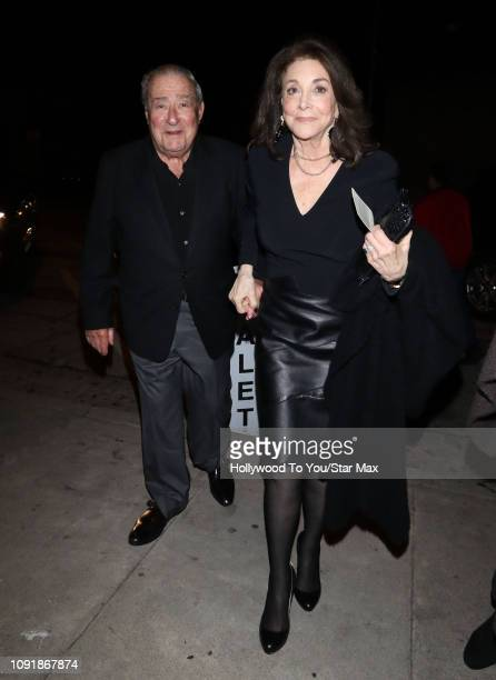 Bob Arum and Lovee Duboef are seen on January 30 2019 in Los Angeles California