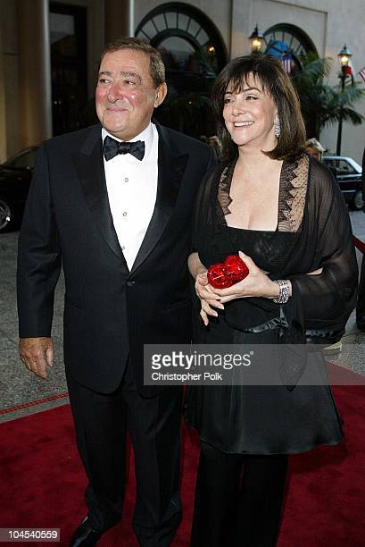 Bob Arum and wife Lovee during Oscar De La Hoya to Host Evening of Champions at Regent Beverly Wilshire Hotel in Beverly Hills CA United States