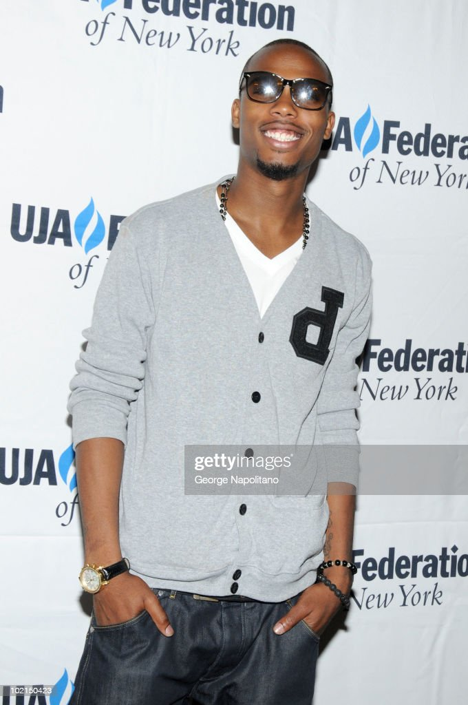 B.o.B attends the UJA-Federation's 2010 Music Visionary of the Year award luncheon at The Pierre Ballroom on June 16, 2010 in New York City.