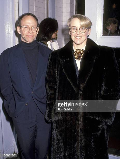 Bob Balaban and Mary Beth Hurt during Unspooling of Parents at Mars Club in New York City New York United States