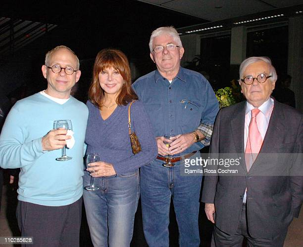 Bob Balaban Marlo Thomas Phil Donahue and Dominick Dunne