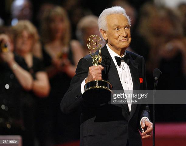 Bob Barker accepts Outstanding Game Show Host award for The Price is Right