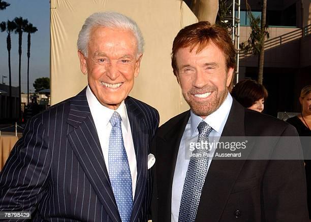Bob Barker and Chuck Norris